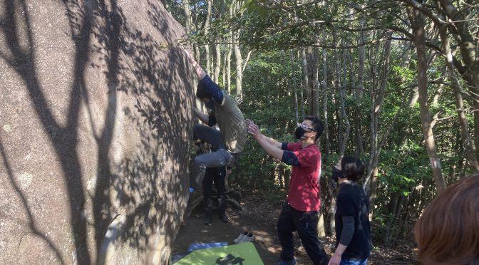 岩登りin 八面山 / 2月最終週