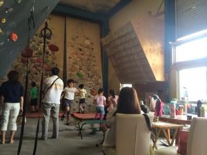 20140827親子のボルダリング体験久留米